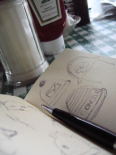 (c) Lindsay Obermeyer sketchbook