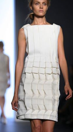 Calvin Klein Origami dress