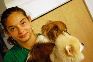 ©2009 Lindsay Obermeyer dogs with Em
