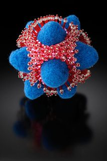 ©2010 Lindsay Obermeyer Virus Blue