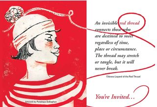©2010 Lindsay Obermeyer, Springboard, Penelope Dullaghan  Redthreadstlouispostcard