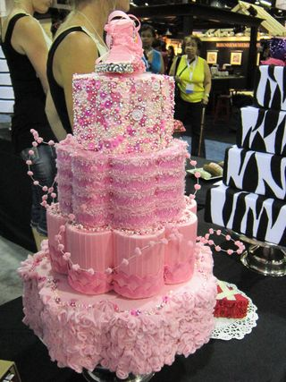 ©2011 Lindsay Obermeyer, CHA, Ribbon King, Ribbon Cakes