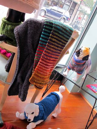 ©2011 Lindsay Obermeyer, Knit 1 Chicago, yarns, dog sweaters