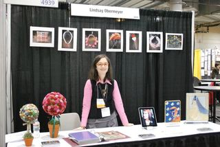 Lindsay Obermeyer , LBO Studio, Trade Show Booth ©2011 Rebeca Mojica