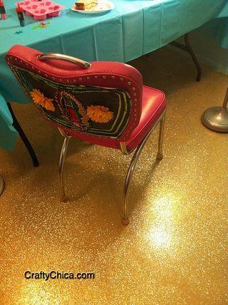 Crafty Chica, Glitter Floor