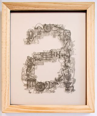 """From the exhibition """"A is for..."""" at COCA in St. Louis, A_John_Early"""