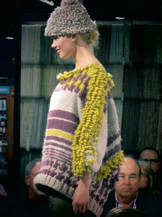 ©2012 Lindsay Obermeyer Lion Brand Yarns 2012 Winter Fashion Show