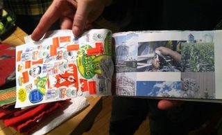 ©2012 Lindsay Obermeyer Food Sticker Book
