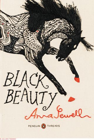 ©2011 Jillian Tamaki cover Black Beauty