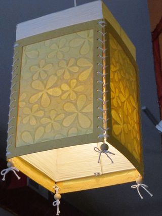 ©2012 Lindsay Obermeyer paper lantern at Sticky Rice
