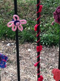 ©2012 Lindsay Obermeyer Rogers Park Is Blooming, Street Art, Yarn Storming, Yarn Bombing