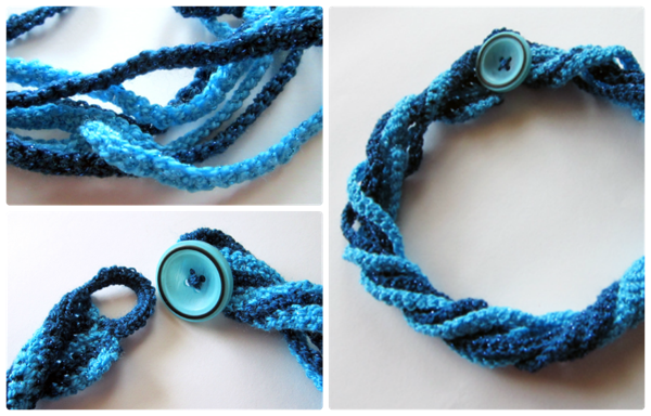Free Pattern Crochet Twist Necklace Serendipity