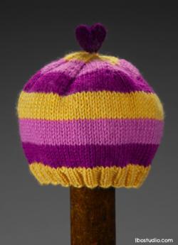©2013 Lindsay Obermeyer Brights Baby Hat