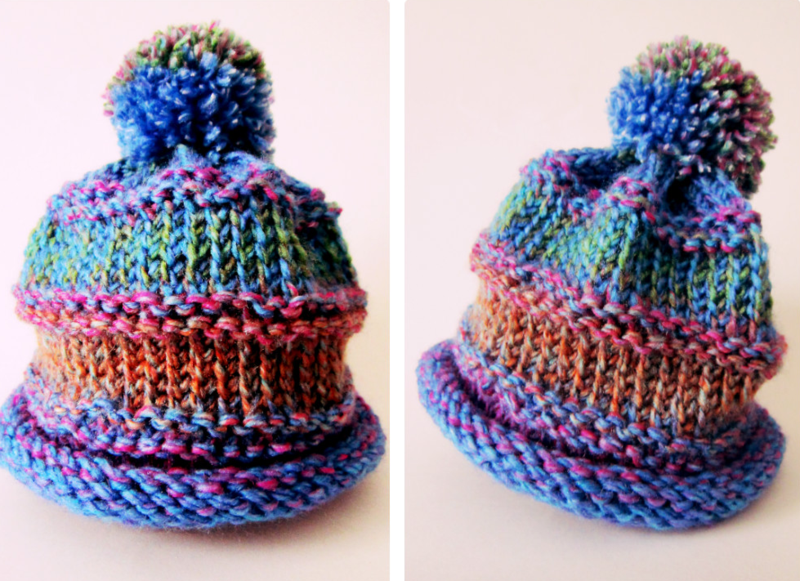 ©2103 Lindsay Obemreyer Loom Knit Hat