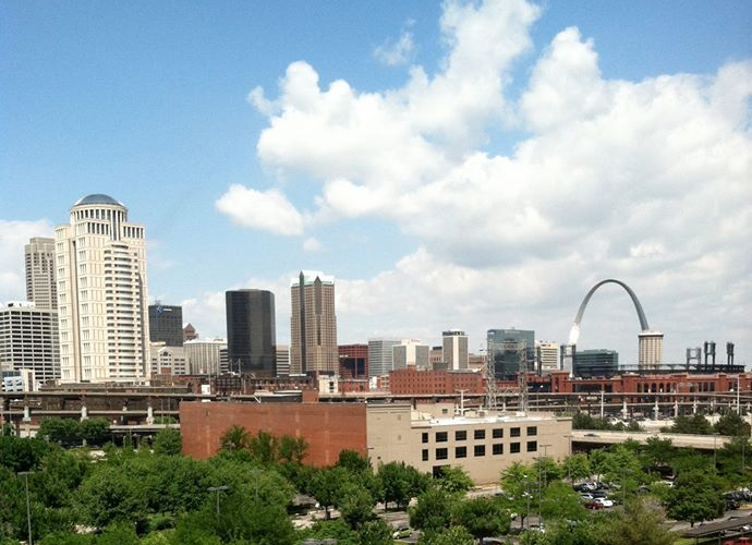 ©2013 Lindsay Obermeyer St. Louis Skyline
