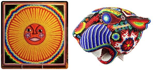 Huichol-Yarn-Painting-Beadwork