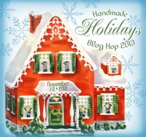 Handmade Holidays Blog Hop 2013 Logo 300x283