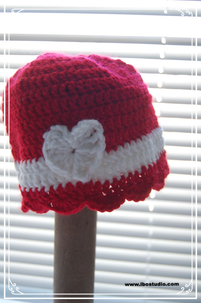 Free Pattern Beginner Level Crochet Baby Hat For Little Hats Big