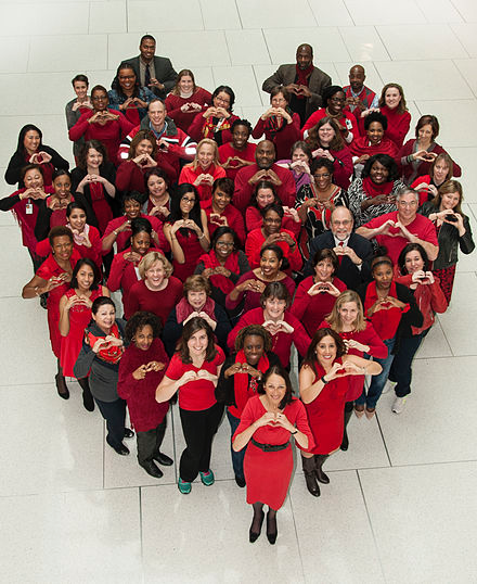 Wear_Red_Day_at_FDA_2015_(16589388368)